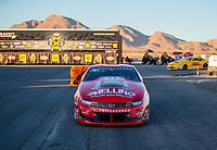 Nov 3, 2019; Las Vegas, NV, USA; NHRA pro stock driver Erica Enders after winning the Dodge Nationals at The Strip at Las Vegas Motor Speedway. Mandatory Credit: Mark J. Rebilas-USA TODAY Sports