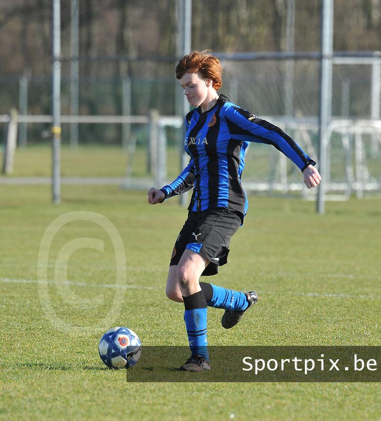 Club Brugge Dames : Jolien Nuytten.foto Joke Vuylsteke / Vrouwenteam.be / Loft6.be