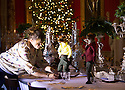 06/11/15<br /> <br /> The weasels take over the dinning room in 'Toad Hall'.<br /> <br /> Inspired by The Wind in The Willows,  this year's Christmas attraction 'Christmas at Chatsworth with Mr Toad' is unveiled today ahead of its official opening tomorrow (Saturday) at Chatsworth House in The Derbyshire Peak District.<br /> <br /> All Rights Reserved: F Stop Press Ltd. +44(0)1335 418365   +44 (0)7765 242650 www.fstoppress.com