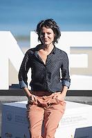 Actress Iraia Elias poses during `Amama´ film presenation at 63rd Donostia Zinemaldia (San Sebastian International Film Festival) in San Sebastian, Spain. September 21, 2015. (ALTERPHOTOS/Victor Blanco) /NortePhoto.com