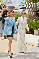 "CANNES, FRANCE. May 23, 2019: Lea Seydoux & Sara Forestier at the photocall for ""Oh Mercy!"" at the 72nd Festival de Cannes.<br /> Picture: Paul Smith / Featureflash"