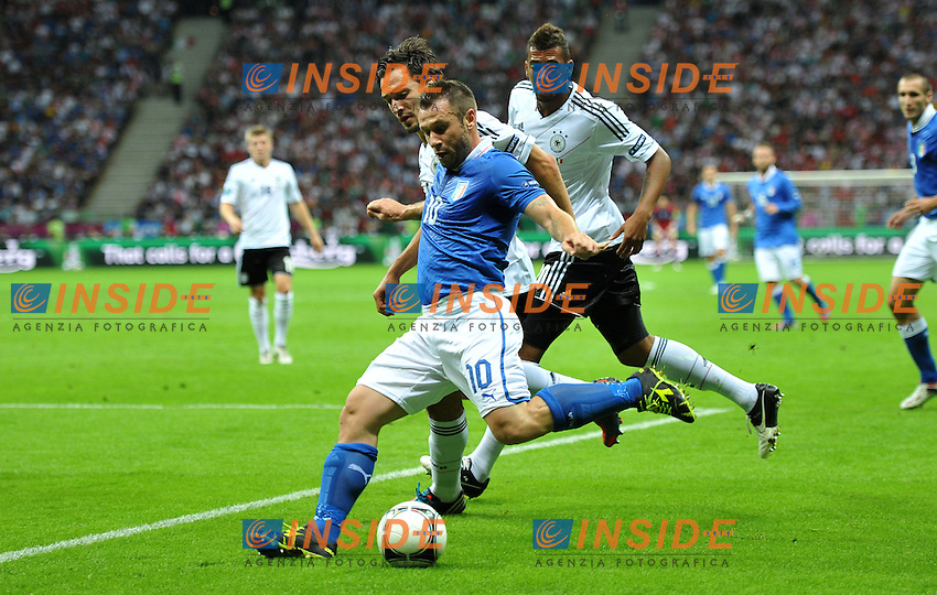 "Antonio CASSANO (Italia).Varsavia 28/06/2012  ""Stadion Narodowy"".Football calcio Europeo 2012 Germania Vs Italia.Football Calcio Euro 2012.Foto Insidefoto Alessandro Sabattini..."