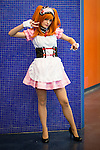 Audrey Lépine attended her first cosplay convention dressed as Mikuru a sexy french maid.