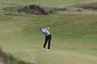 Daniella Barrett (FIN) on the 5th fairway during Matchplay Semi-Finals of the Women's Amateur Championship at Royal County Down Golf Club in Newcastle Co. Down on Saturday 15th June 2019.<br /> Picture:  Thos Caffrey / www.golffile.ie