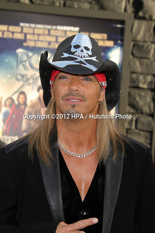 "LOS ANGELES - JUN 8:  Bret Michaels arriving at ""Rock of Ages"" World Premiere at Graumans Chinese Theater on June 8, 2012 in Los Angeles, CA"