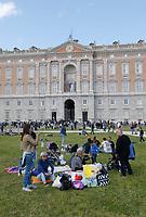 Dopo 25 anni il parco della Reggia di Caserta riapre al pubblico in occasione della Pasquetta<br /> picnic all 'esterno