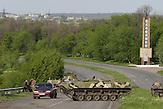 Ukrainische Kräfte kesseln Slowjansk ein, 3. Mai 2014 / Ukrainian forces take control around Sloviansk on May 3, 2014