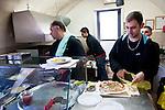 Haifa - From Mama Pita (57 Allenby Rd), , a little hole always crowded, you line up for the amazing pita seasoned with zaatar (a mixture of herbs including hyssop),  white meat or cheese.<br /> <br /> Mama Pita (57 Allenby Rd),&nbsp;un buchetto sempre affollatissimo, si fa la fila per le strepitose pita condite con zaatar (un misto di erbe tra cui l&rsquo;issopo), carne&nbsp; o formaggio bianco.