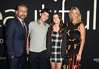 BEVERLY HILLS, CA - OCTOBER 8: Steve Carell, John Carell, Elisabeth Carell and Nancy Carell at the Los Angeles Premiere of Beautiful Boy at the Samuel Goldwyn Theater in Beverly Hills, California on October 8, 2018. <br /> CAP/MPIFS<br /> ©MPIFS/Capital Pictures