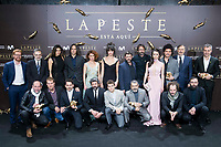 Full cast and producers attends to the premiere of 'La Peste' at Callao Cinemas in Madrid, Spain. January 11, 2018. (ALTERPHOTOS/Borja B.Hojas) /NortePhoto.com NORTEPHOTOMEXICO