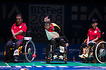 Boris Nicolai (GER)<br /> BC4 Bronze Medal Match<br /> Germany v Hong Kong<br /> BISFed 2018 World Boccia Championships <br /> Exhibition Centre Liverpool<br /> 18.08.18<br /> &copy;Steve Pope<br /> Sportingwales