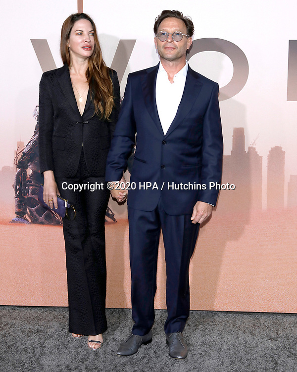 """LOS ANGELES - MAR 5:  Brittany Rice, Thomas Kretschmann at the """"Westworld"""" Season 3 Premiere at the TCL Chinese Theater IMAX on March 5, 2020 in Los Angeles, CA"""