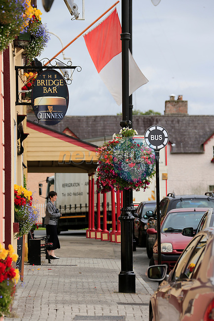 Moynalty village in Co Meath, winner of the Tidy towns 2013<br /> Picture Fran Caffrey www.newsfile.ie