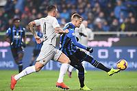 Aleksandar Kolarov of AS Roma , Josip Ilicic of Atalanta <br /> Bergamo 27-1-2019 Stadio Atleti Azzurri d'Italia, Football Serie A 2018/2019 Atalanta - AS Roma<br /> Foto Image Sport / Insidefoto
