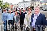 Ger Counihan Chairman and Trudi O'Sullivan Secretary of the new Killorglin Chamber Alliance with members l-r: Peter Keane, Billy O'Shea, Brendan Foley, Josie O'Donnell, Brian Jones and Chris McGillicuddy