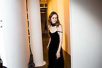 NEW YORK - FEB 11: ADAM SELMAN at MILK. Scenes from New York Fashion Week, FALL/WINTER 2016, on February 11, 2016, in New York City. (Photo by Landon Nordeman)