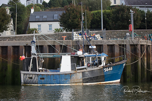 Gus O'Donovan's Fishing Trawler, the Majestic IV at Crosshaven Pier