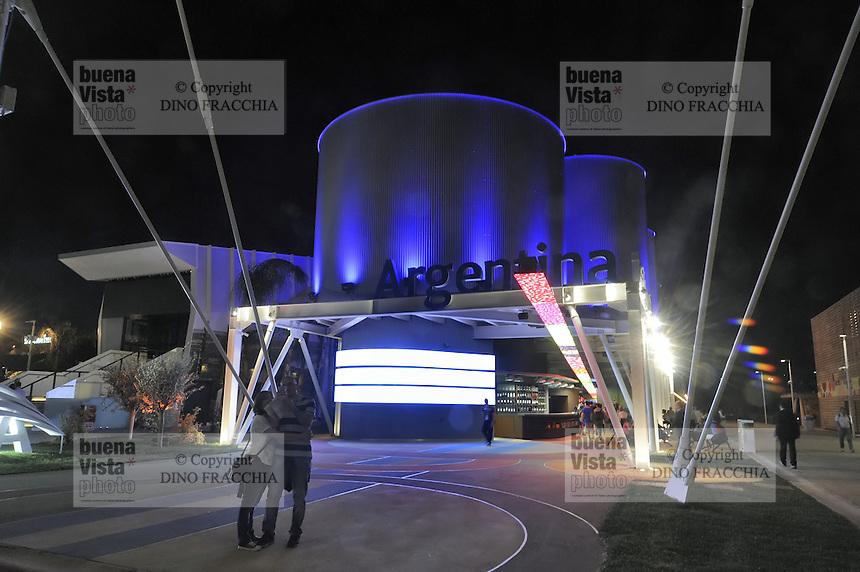 - Milano, Esposizione Mondiale Expo 2015, padiglione Argentina<br /> <br /> - Milan, the World Exhibition Expo 2015, Argentina pavillion