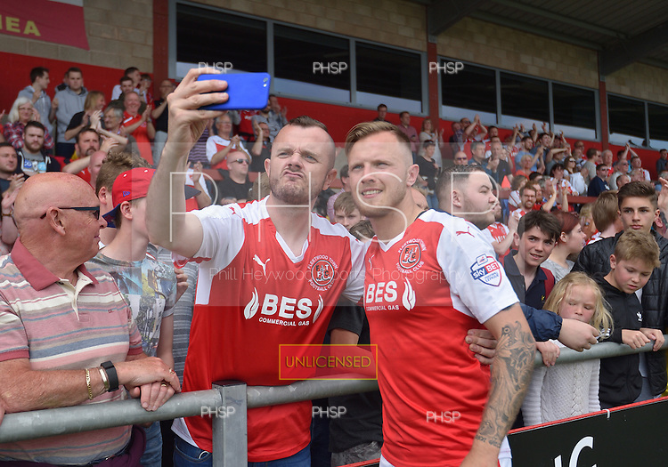 08/05/2016 Sky Bet League 1 Fleetwood Town v <br /> Crewe Alexandra<br /> David Ball