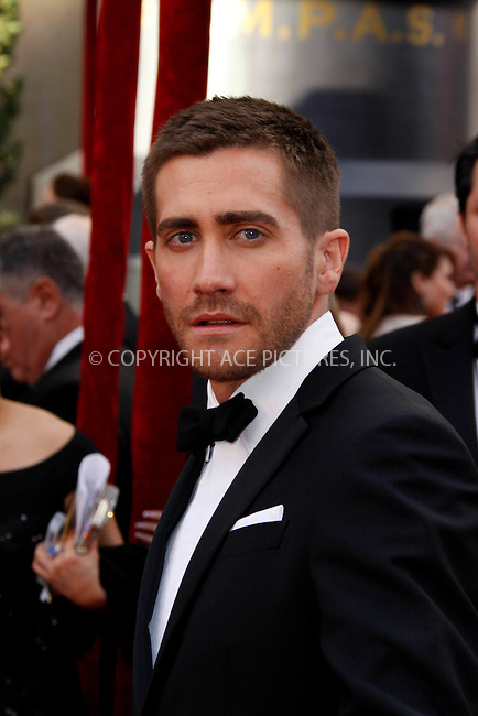 WWW.ACEPIXS.COM . . . . .  ....March 7 2010, Hollywood, CA....Jake Gyllenhaal at the 82nd Annual Academy Awards held at Kodak Theatre on March 7, 2010 in Hollywood, California.....Please byline: Z10-ACE PICTURES... . . . .  ....Ace Pictures, Inc:  ..Tel: (212) 243-8787..e-mail: info@acepixs.com..web: http://www.acepixs.com