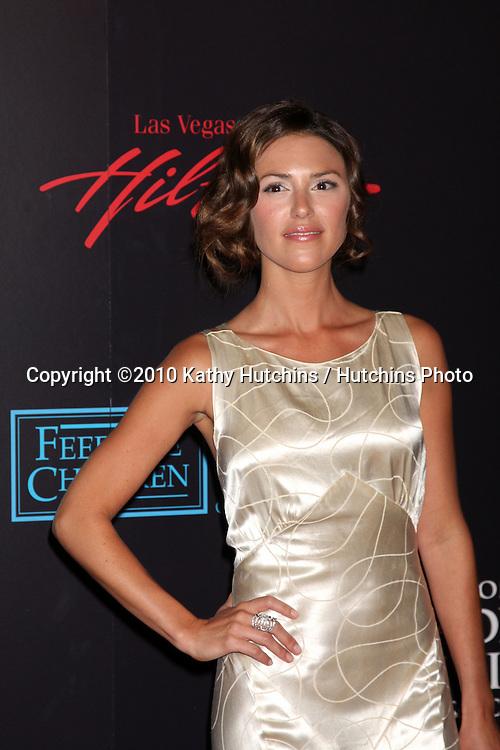 Elizabeth Hendrickson.arrives at the 2010 Daytime Emmy Awards .Las Vegas Hilton Hotel & Casino.Las Vegas, NV.June 27, 2010.©2010 Kathy Hutchins / Hutchins Photo....