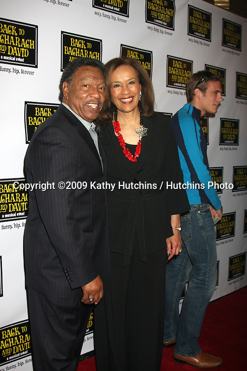 "Billy Davis Jr & Marilyn McCoo  arriving at the ""Back to Bacharach & David""  Musical Opening at the Henry Fonda Theater in Hollywood, California on April 19, 2009.©2009 Kathy Hutchins / Hutchins Photo....                ."
