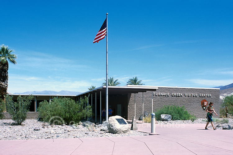 Death Valley National Park, California, CA, USA - Furnace Creek Visitor Center