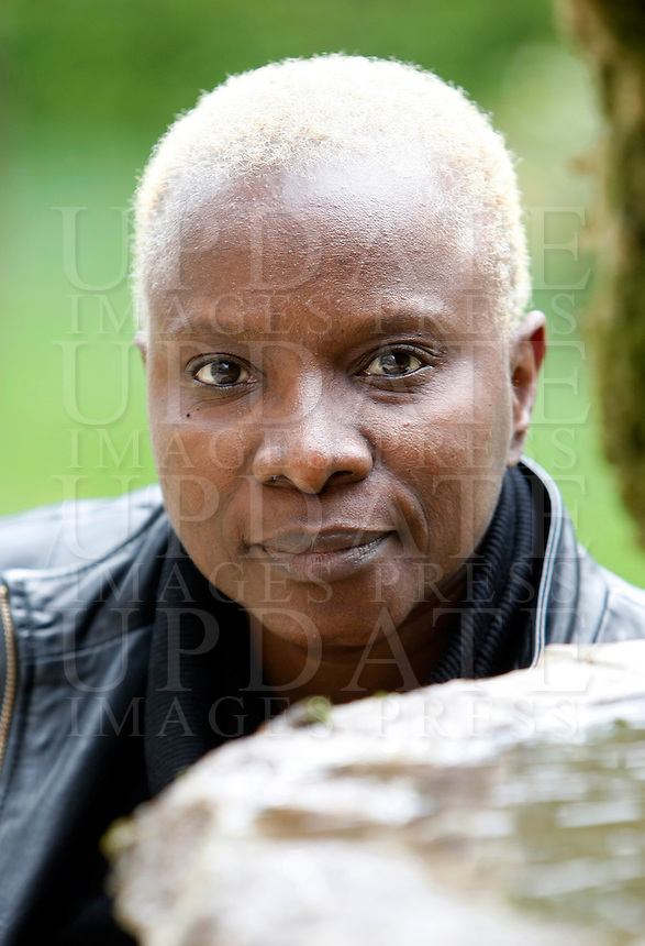 La cantante Angelique Kidjo, del Benin, ritratta a Roma, 20 aprile 2009..Singer Angelique Kidjo, of Benin, portrayed in Rome, 20 april 2009..UPDATE IMAGES PRESS/Riccardo De Luca
