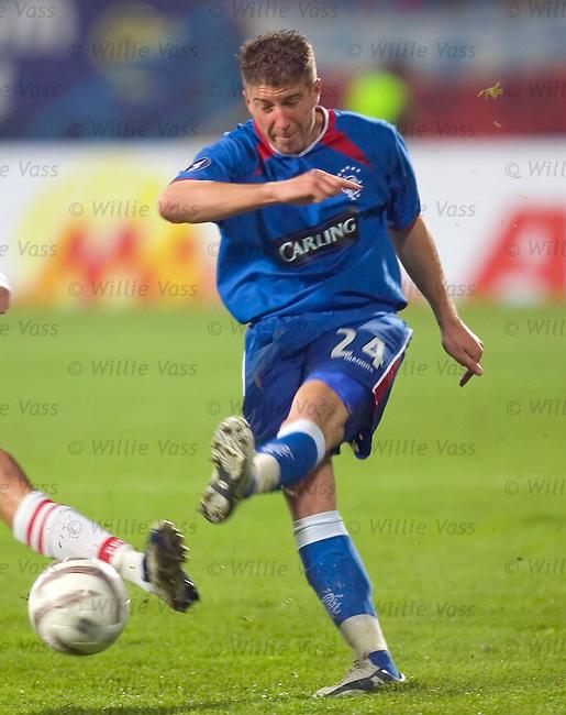 Gregory Vignal, Rangers.stock season 2004-2005.pic willie vass