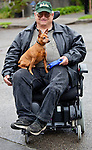 Whether or not dogs are helpmates to people living with disabilities, they certainly provide deep companionship and loyalty unlike any other relationships we have. Washington, USA.