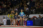 British Gymnastics Championships 2017<br /> The Liverpool Echo Arena<br /> Holly Jones Swansea Gymnastics Centre<br /> 25.03.17<br /> &copy;Steve Pope - Sportingwales