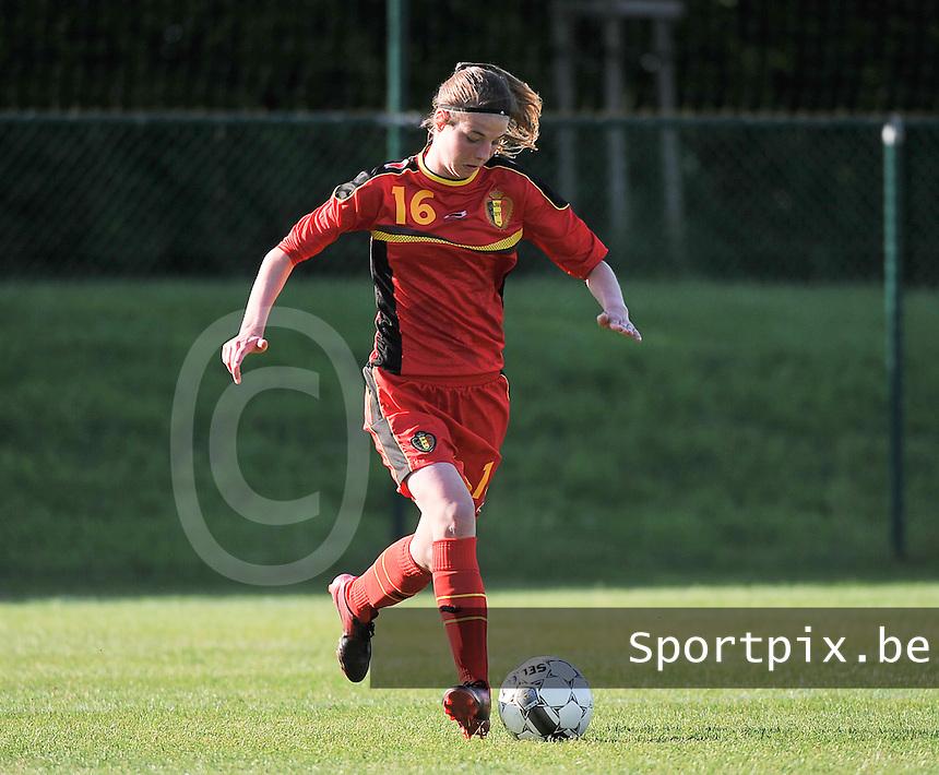 Belgium - Ukraine : Nicky Van Den Abbeele<br /> foto DAVID CATRY / Nikonpro.be