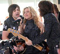 June 01, 2012 Neil Perry, Kimberly Perry and Reid Perry of The Band Perry perform at NBC's Today Show Toyota Concert Series in New York City. © RW/MediaPunch Inc.