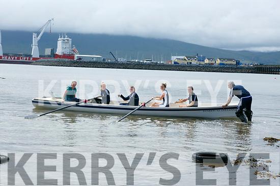 Enjoying the Fenit Regatta on Sunday were Orla Tangney, Miriam Fleming, Cira Gleason, Rosin Wall and aoife O'Shea