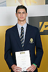 Boys Trampolinning winner Kieran Tuhi. ASB College Sport Young Sportperson of the Year Awards 2007 held at Eden Park on November 15th, 2007.