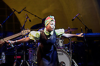 The Colombian Band Choc Quib Town performs at Prospect Park in Brooklyn New York on July 10, 2014 in New York City. Kena BetancurVIEWpress