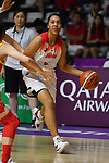 Reira Takehara (JPN), <br /> AUGUST 17, 2018 - Basketball : Women's Qualification round match between Japan 73-105 China at Gelora Bung Karno Basket Hall A during the 2018 Jakarta Palembang Asian Games in Jakarta, Indonesia. (Photo by MATSUO.K/AFLO SPORT)