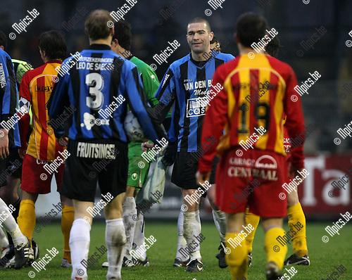 2010-01-24 / Voetbal / seizoen 2009-2010 / Rupel-Boom - Racing Waregem / Jerry Poorters was met 2 doelpunten één van de uitblinkers..Foto: mpics