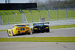 Lee Mowle - Optimum Motorsport Ginetta G50 & Derek Johnston - Greypaul Racing Ferrari 458 Challenge
