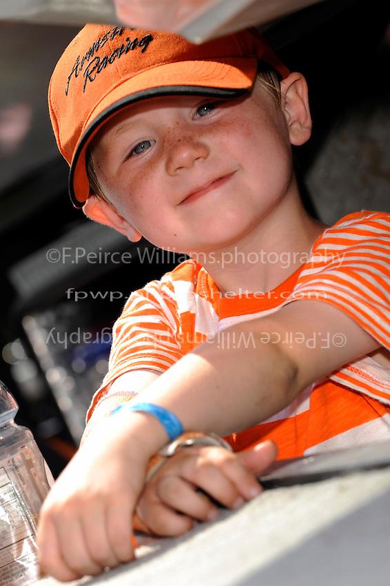 "Bennett Armstrong, 5, son of Steve Armstrong, CS-11 ""Total Chaos""."