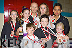 CHAMPIONS: Martial arts fighters from the Kerry Shotokan Karate Club who won medals at the World Karate Championships held in Poland in September