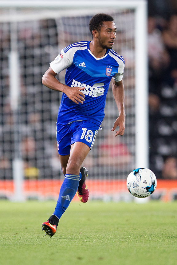 Ipswich Town's Grant Ward<br /> <br /> Photographer James Williamson/CameraSport<br /> <br /> The EFL Sky Bet Championship - Derby County v Ipswich Town - Tuesday 13th September 2016 - iPro Stadium - Derby<br /> <br /> World Copyright &copy; 2016 CameraSport. All rights reserved. 43 Linden Ave. Countesthorpe. Leicester. England. LE8 5PG - Tel: +44 (0) 116 277 4147 - admin@camerasport.com - www.camerasport.com