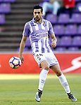 Real Valladolid's Alex Perez during La Liga Second Division match. March 11,2017. (ALTERPHOTOS/Acero)