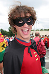 22 June 2006: A U.S. fan dressed up as comic superhero Robin. Ghana played the United States at the Frankenstadion in Nuremberg, Germany in match 42, a Group E first round game, of the 2006 FIFA World Cup.