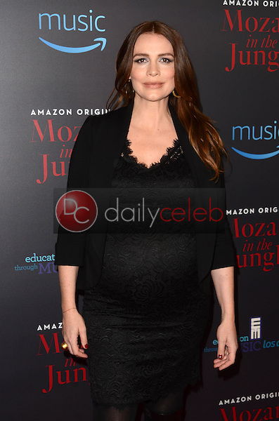 """Saffron Burrows<br /> at the """"Mozart In The Jungle"""" Special Screening and Concert, The Grove, Los Angeles, CA 12-01-16<br /> David Edwards/DailyCeleb.com 818-249-4998"""