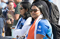 The Fans were out in force for the warm up fixture at the Oval during India vs New Zealand, ICC World Cup Warm-Up Match Cricket at the Kia Oval on 25th May 2019
