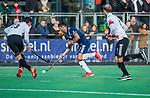 AMSTELVEEN - Martin Ferreiro (Pinoke)tijdens de competitie hoofdklasse hockeywedstrijd heren, Pinoke-Amsterdam (1-1)   COPYRIGHT KOEN SUYK