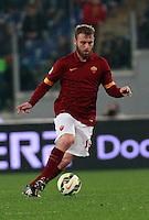 Daniele De Rossi  during the Italian Serie A soccer match between   AS Roma and Juventus FC       at Olympic Stadium      in Rome ,March 02 , 2015