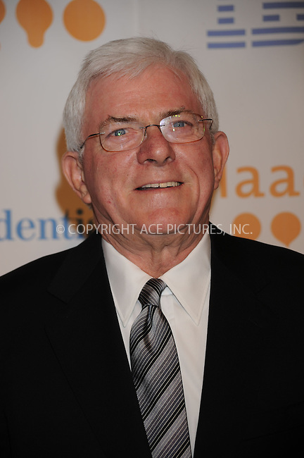 WWW.ACEPIXS.COM..March 28 2009, New York City..Phil Donahue attends the 20th Annual GLAAD Media Award ceremony at Marriott Marquis on March 28, 2009 in New York City...Please byline: Kristin Callahan - ACEPIXS.COM...*** ***...Ace Pictures, Inc.tel: (212) 243 8787.e-mail: info@acepixs.com.web: http://www.acepixs.com..© 2009 Kristin Callahan/ACE Pictures.