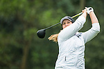Liz Young of England tees off at the 14th hole during Round 1 of the World Ladies Championship 2016 on 10 March 2016 at Mission Hills Olazabal Golf Course in Dongguan, China. Photo by Victor Fraile / Power Sport Images
